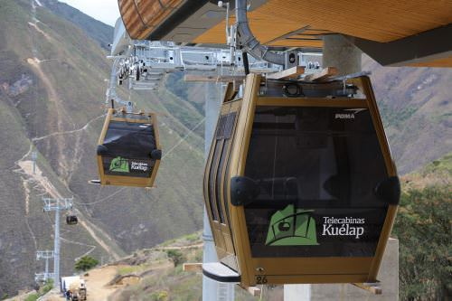 Telecabinas Kuelap - Cable Car system in Kuelap is now opened to the turists!