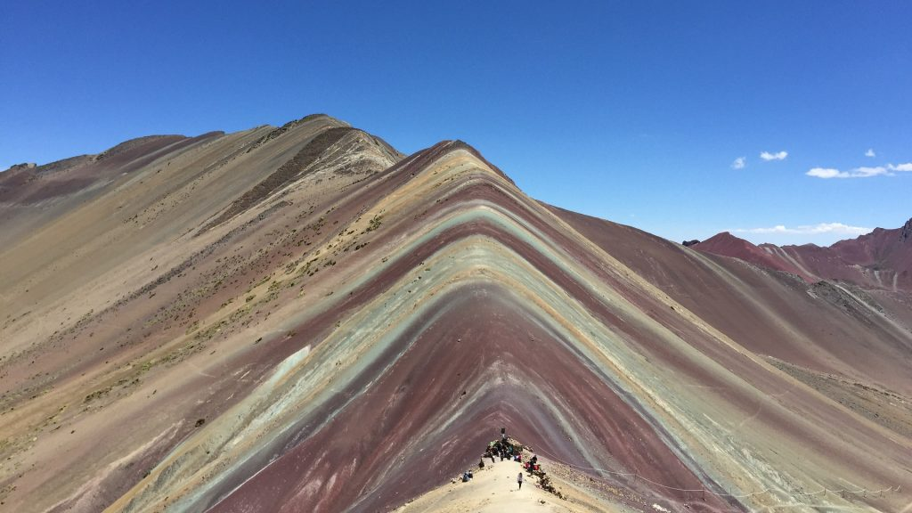 Vinicunca Rainbow Mountain new route Cusipata