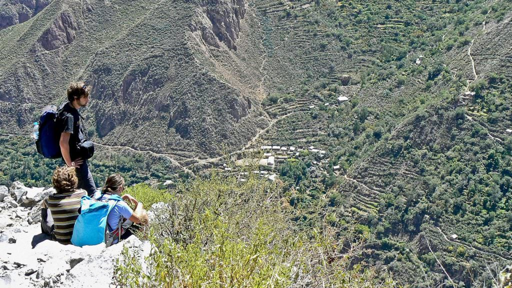 3 days Colca Canyon trek - Boton