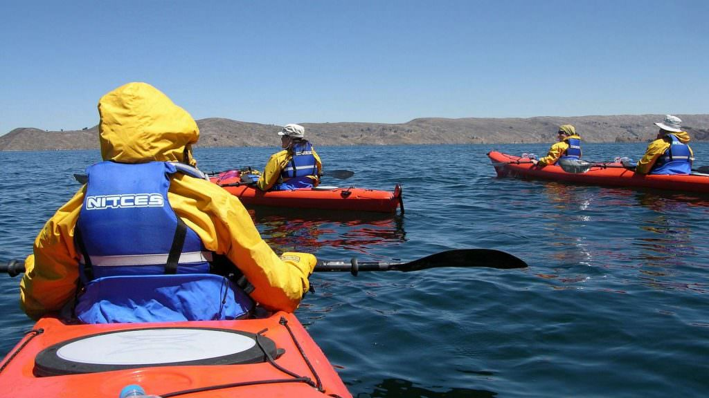 FEATURED HD KAYAK ADVENTURE IN LAKE TITICACA 1024x576 - THE GREAT 1-DAY ADVENTURE IN THE BLACK CANYON OF THE APURIMAC RIVER