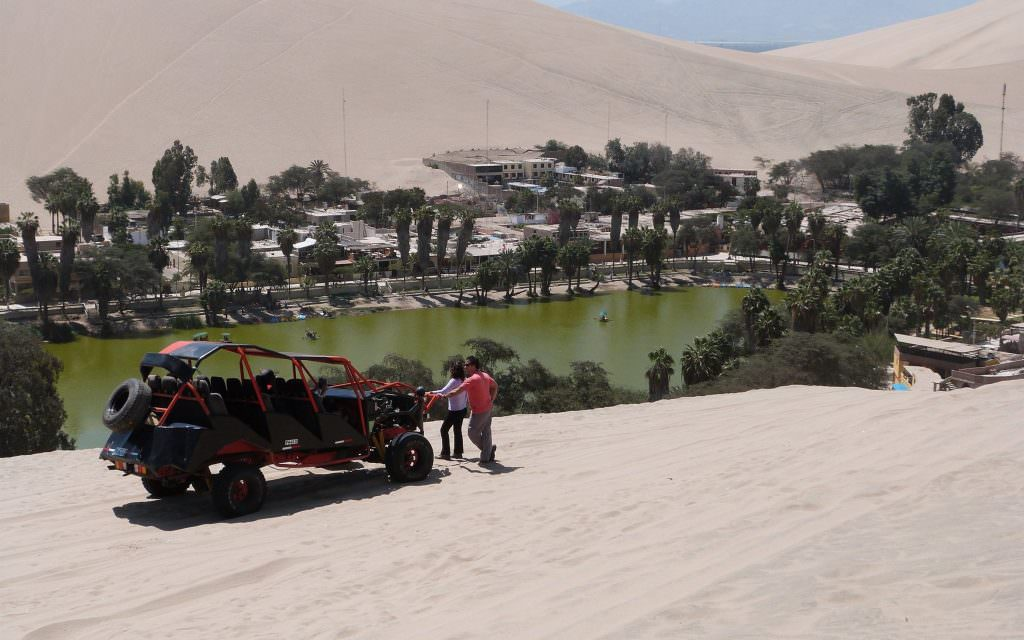 Huacachina Sand Buggy and Sandboarding