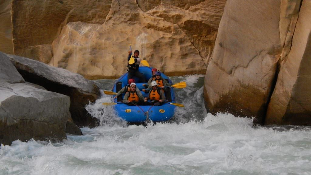 River Rafting in the Apurimac river