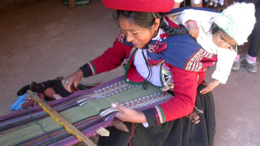 Cusco Weaving Tour - Boton