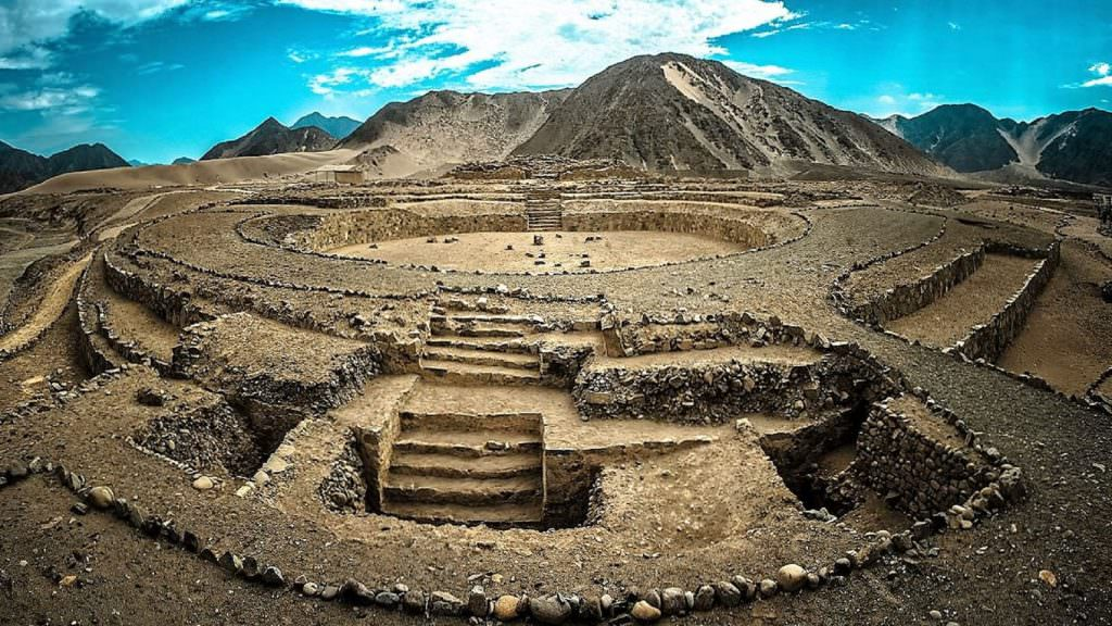 FEATURED THE SACRED CITY OF CARAL 1024x576 - Tour Full-day Rainbow Mountain Vinicunca and Red Valley Cusco