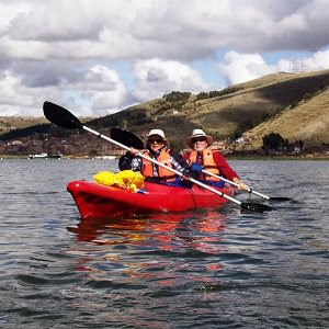 KAYAK 4 - 2 days private tour to Uros, Ticonata & Amantani islands of Lake Titicaca