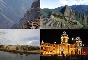 Costa- Andes peruanos -descripcion