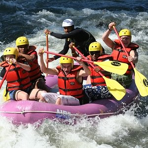 rafting - Julia Koch & Family - Finland