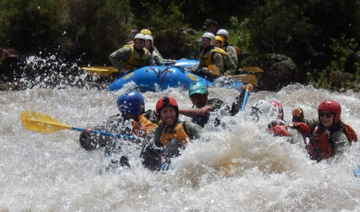 Rafting Chuquicahuana-boton