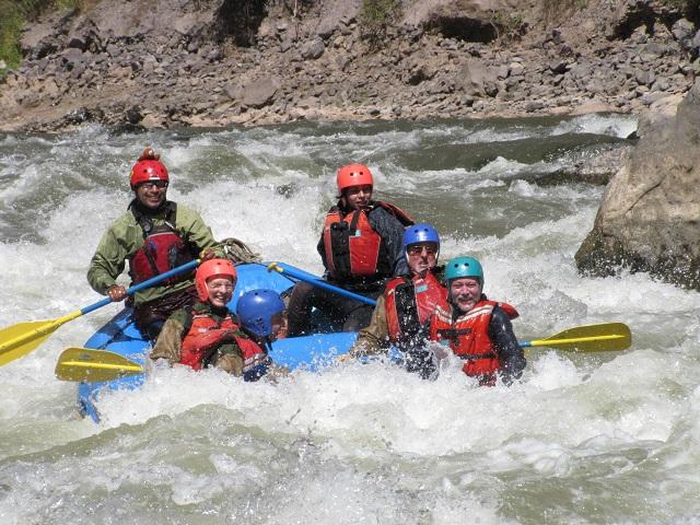 Rafting Ollantaytambo - botton