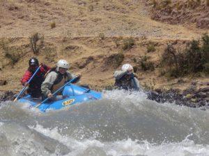 Rafting seccion Ollantaytambo