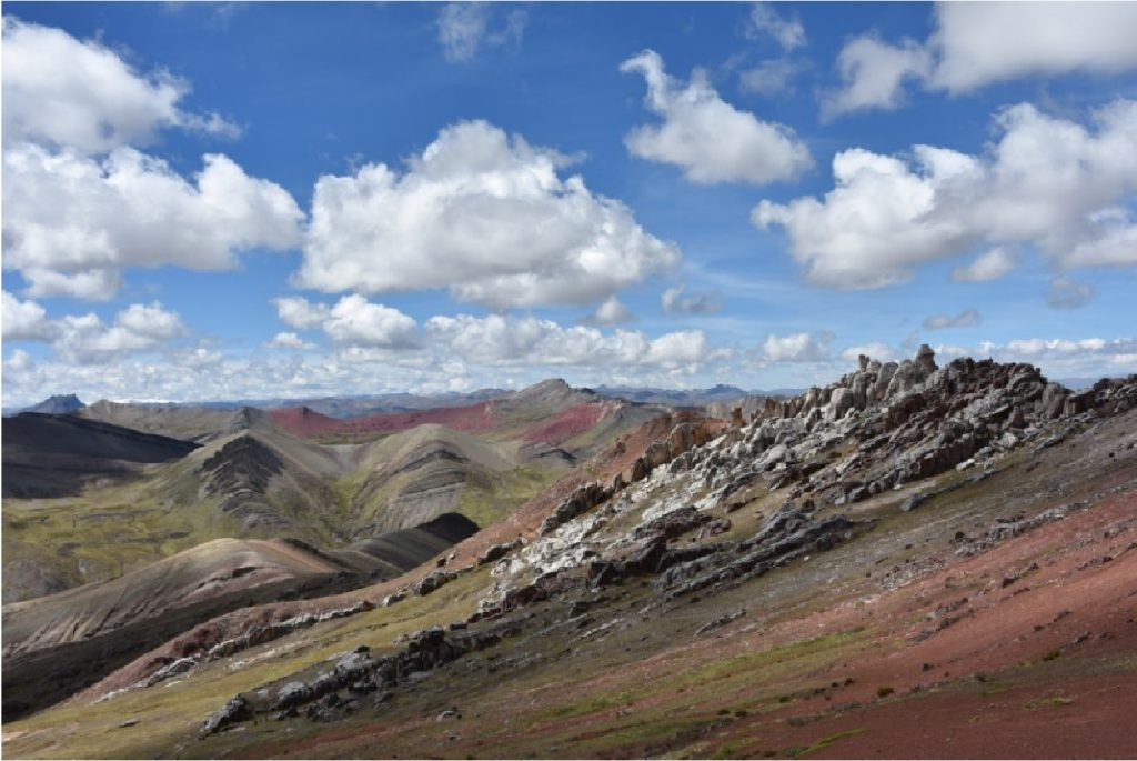 Rainbow Mountain Vinicunca new route Cusipata-description