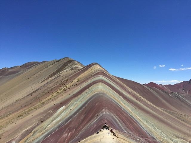 vinicunca rainbow mountain red valley-640